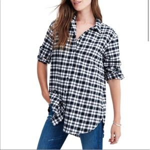 Madewell Oversized Flannel Shirt